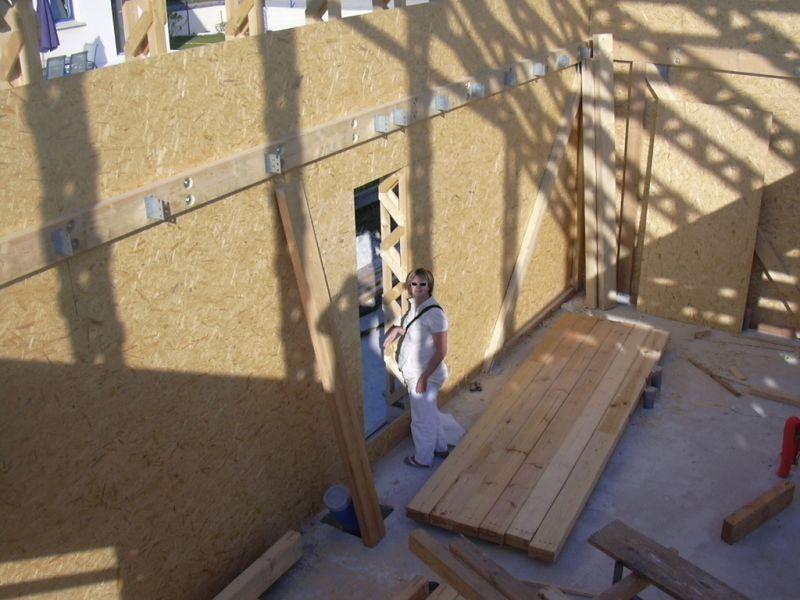 Ca avance construction d une maison passive en bretagne - Gros oeuvre d une maison ...