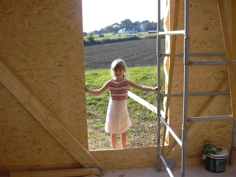 ca avance construction d une maison passive en bretagne. Black Bedroom Furniture Sets. Home Design Ideas