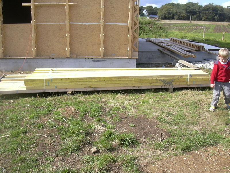 Le toit construction d une maison passive en bretagne - Gros oeuvre d une maison ...